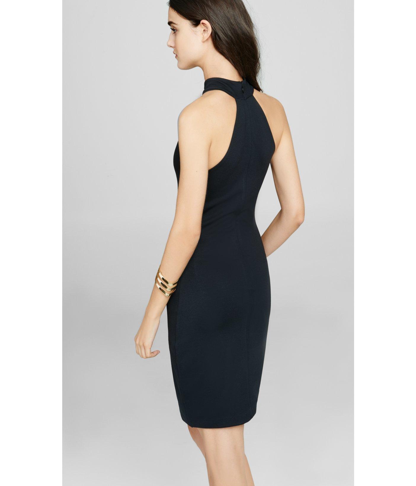 High Neck Halter Dresses