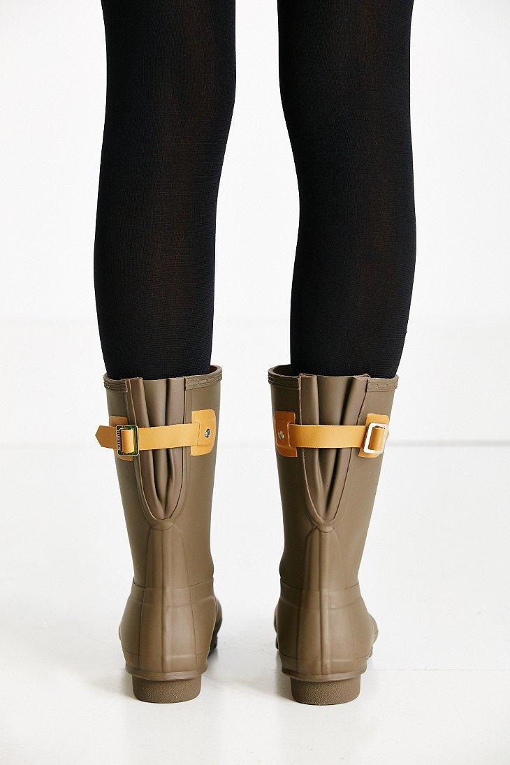 Hunter Women's Original Short Back Adjustable Rain Boot HkWJgMaA6