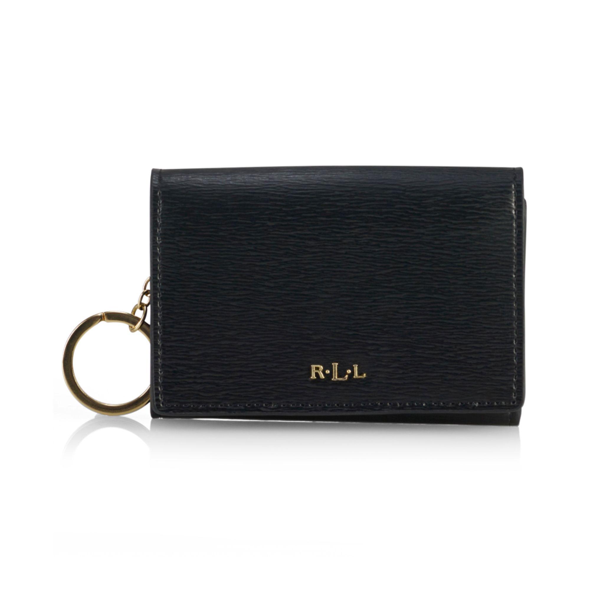 Lyst - Lauren by Ralph Lauren Tate Coin Purse in Black 55de393c29