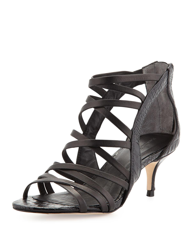 Black Kitten Heel Dress Shoes