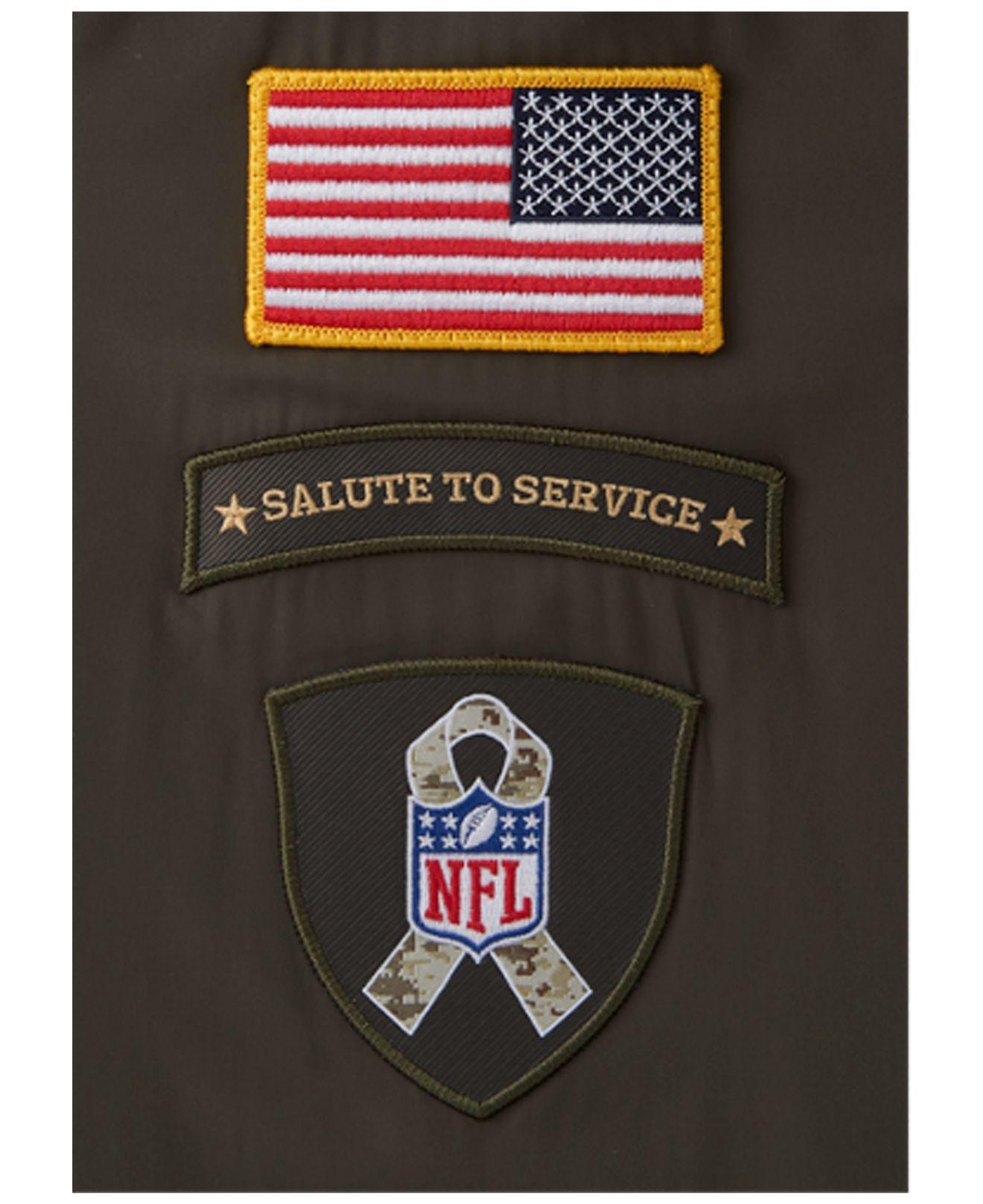 Lyst - Nike Men s St. Louis Rams Salute To Service Hybrid Quarter ... e5e3165cf