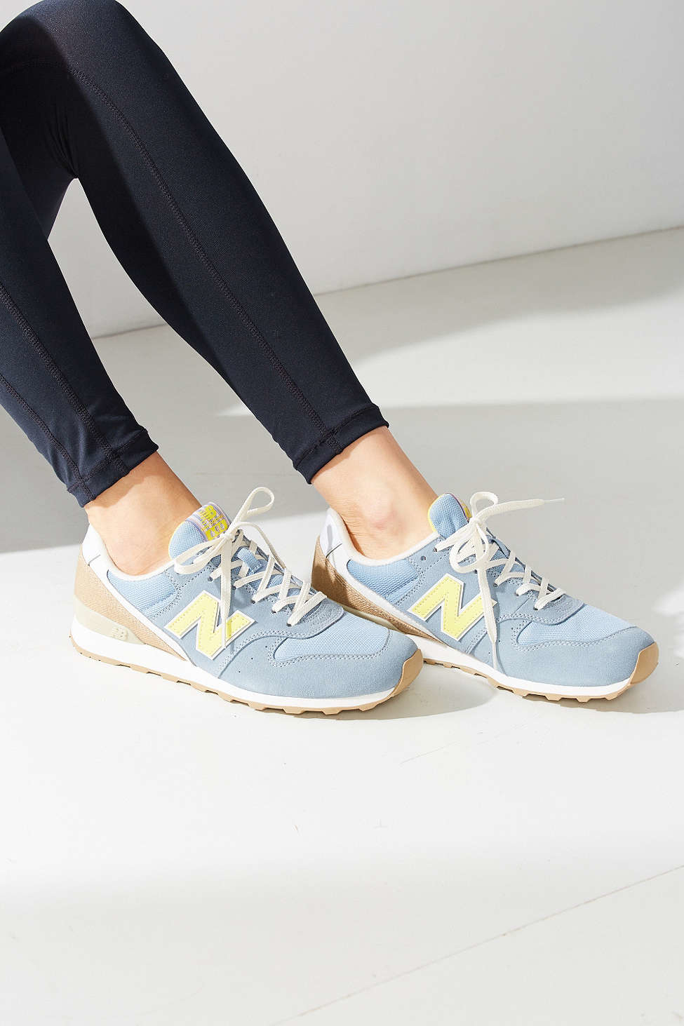 bd2b59158e907 New Balance 696 Lakeview Running Sneaker in Blue - Lyst