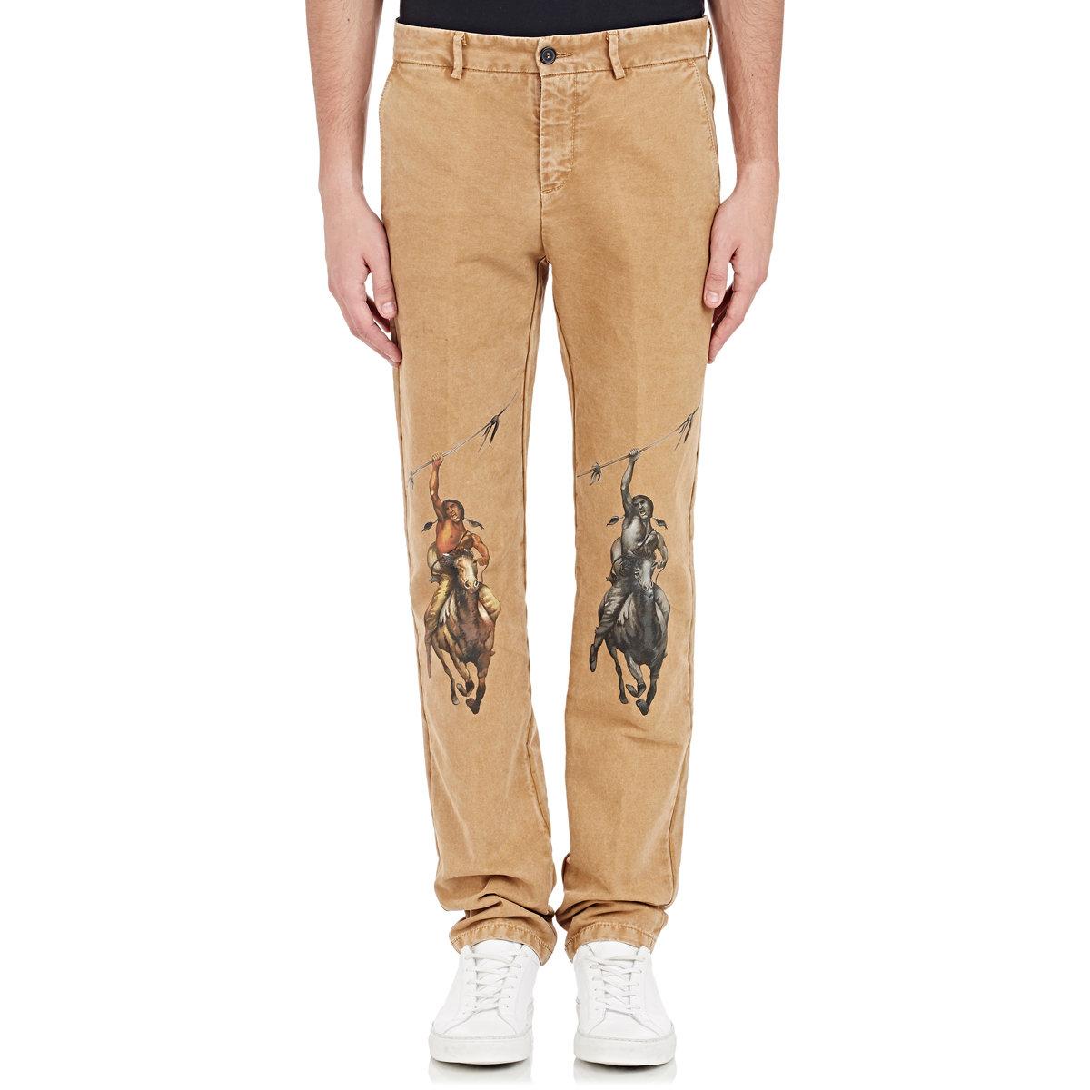 Off-white c/o virgil abloh Men's American Southwest-print Pants in ...