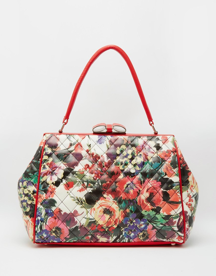 Love Moschino Floral Bag Lyst