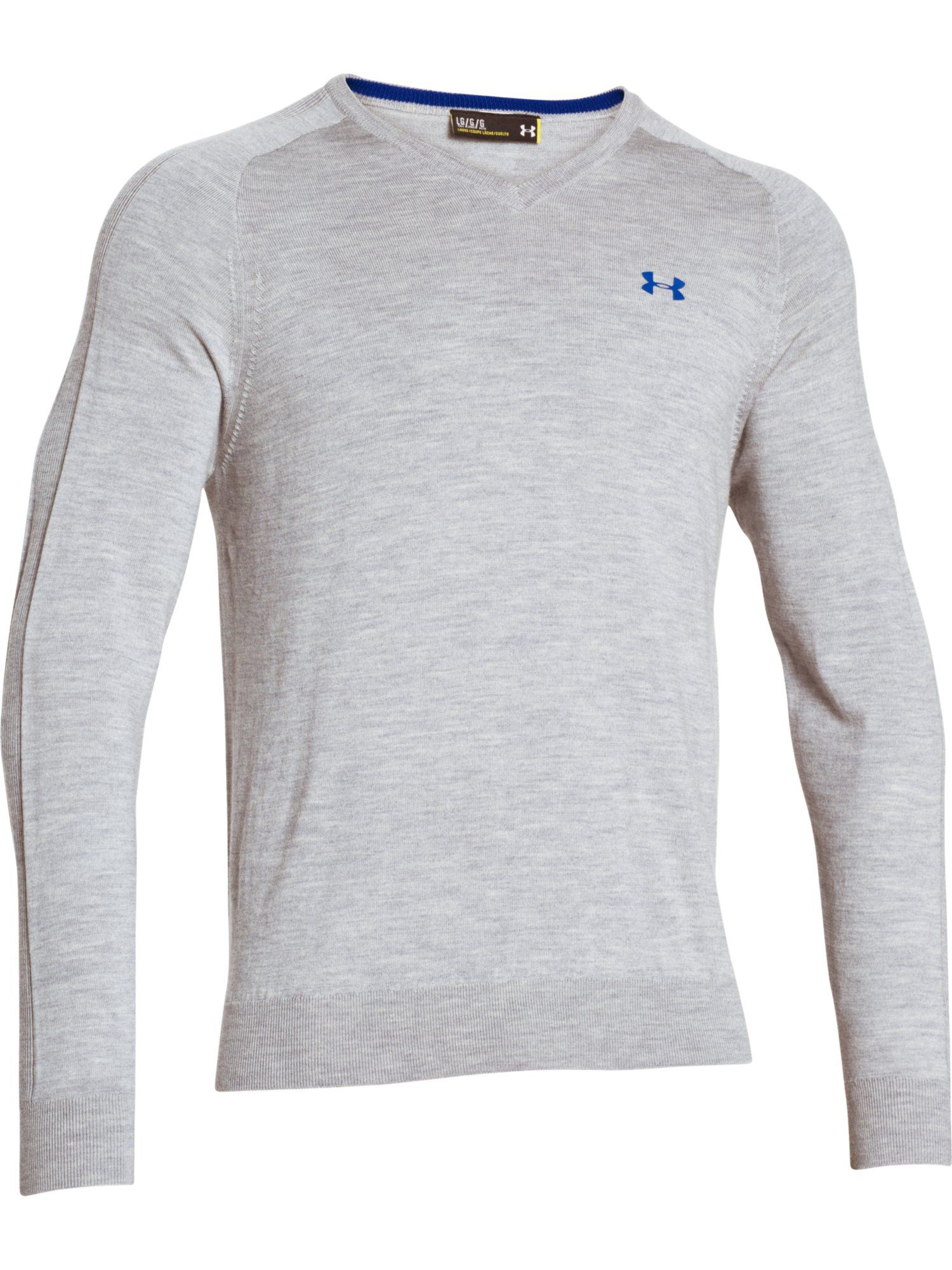 Under armour Tips V-neck Sweater in Gray for Men (Grey)