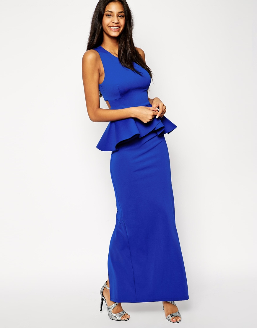 Find Blue maxi dresses at ShopStyle. Shop the latest collection of Blue maxi dresses from the most popular stores - all in one place.