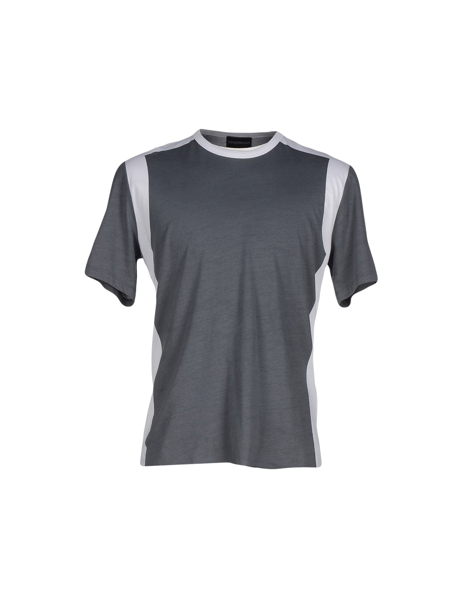 emporio armani t shirt in gray for men lyst. Black Bedroom Furniture Sets. Home Design Ideas