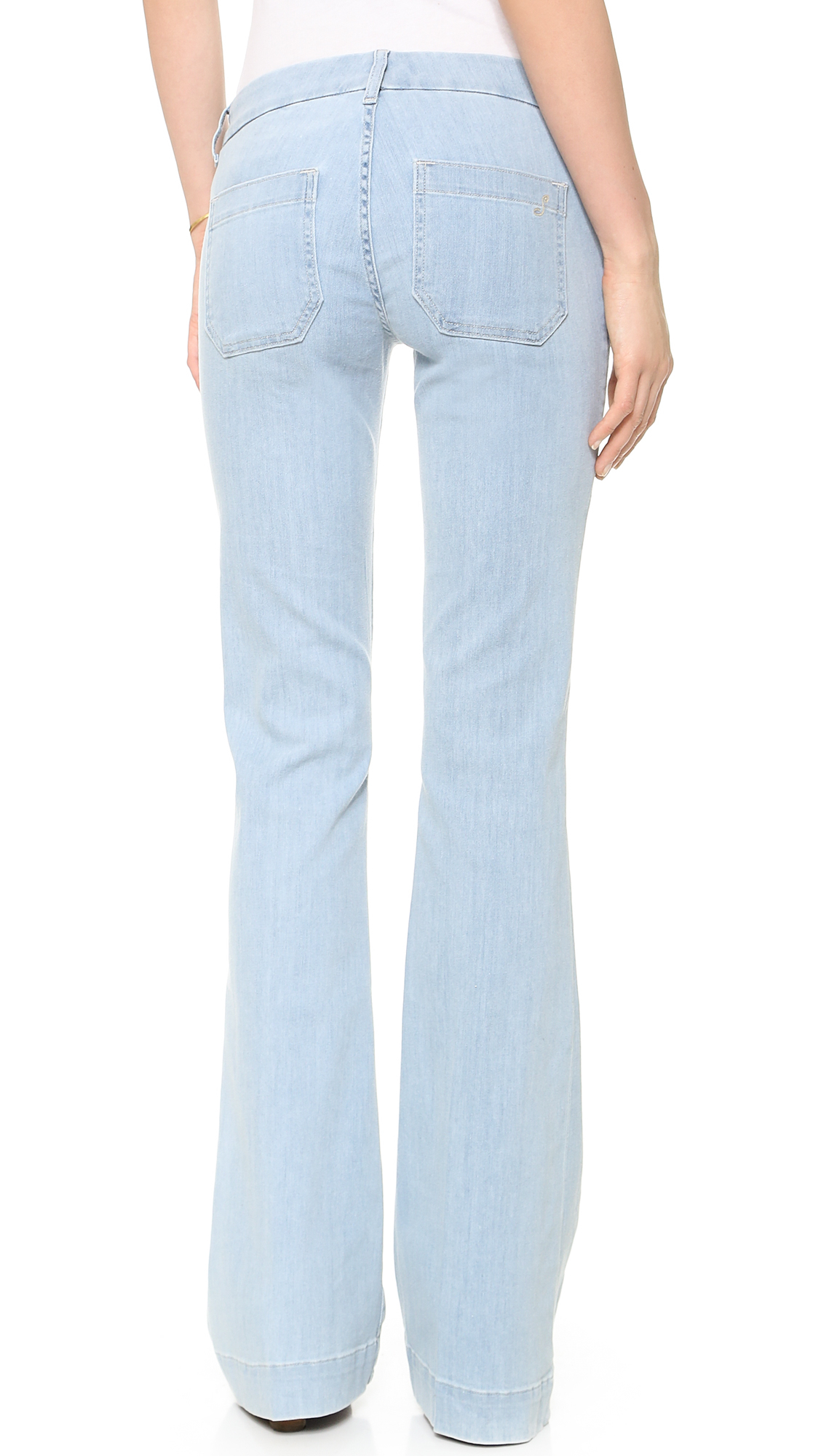 The seafarer Penelope Flare Jeans - Light in Blue | Lyst