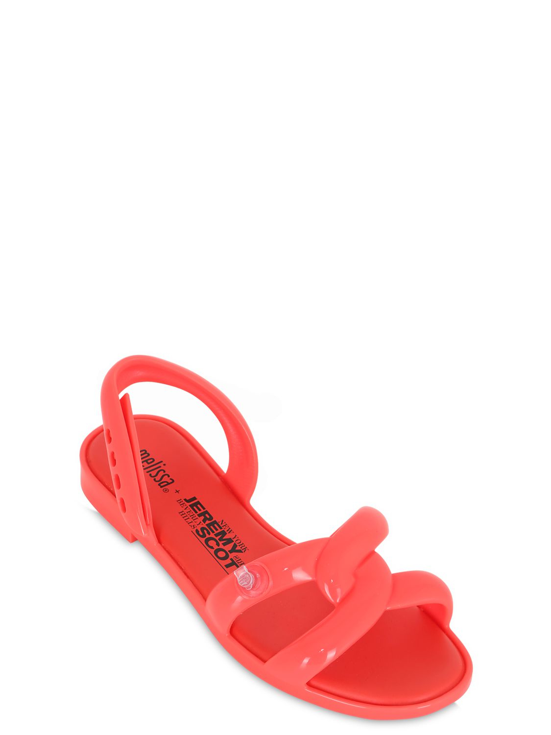 Melissa 10mm Inflatable Rubber Sandals in Red | Lyst