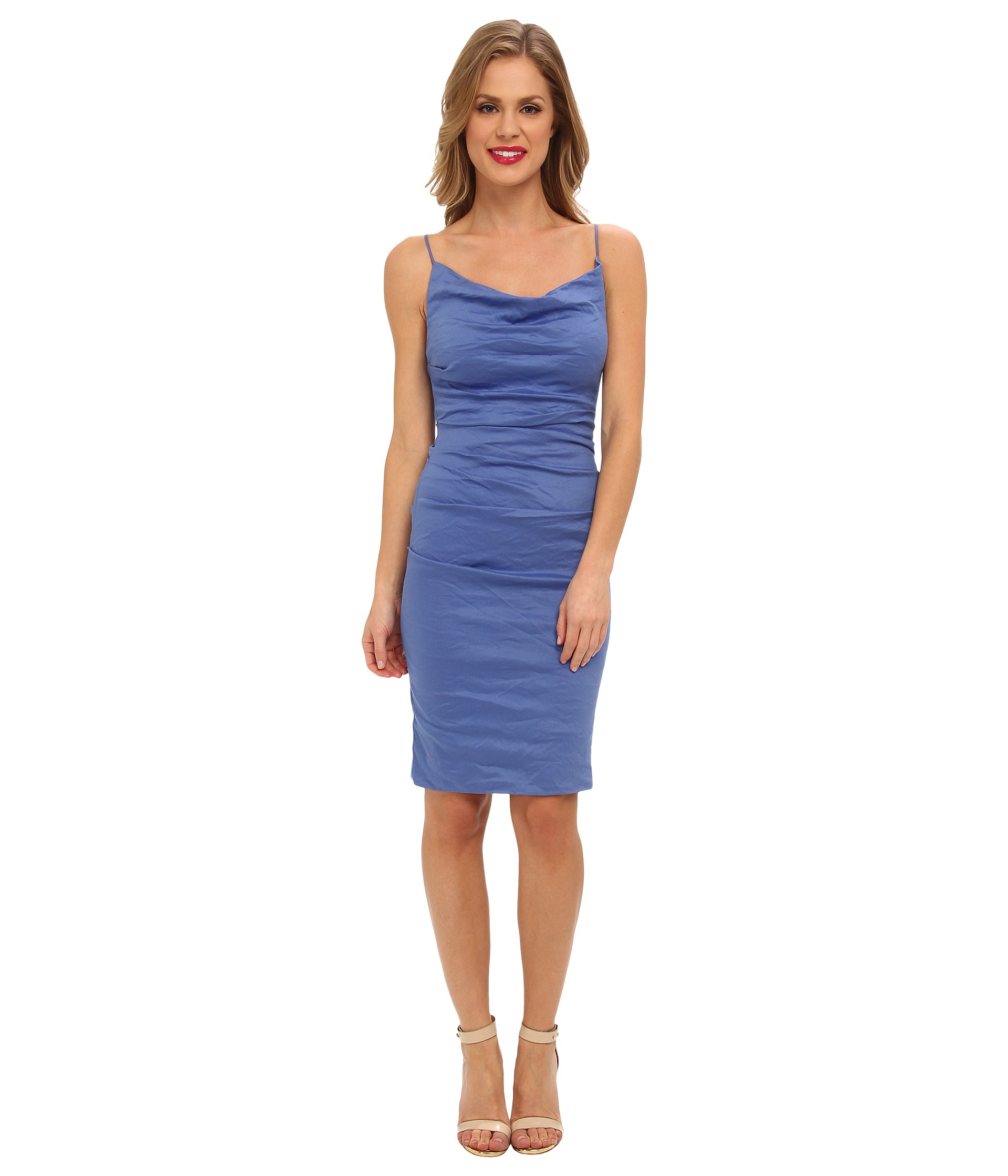 Carly dress - Blue Nicole Miller 7YmbMEd8