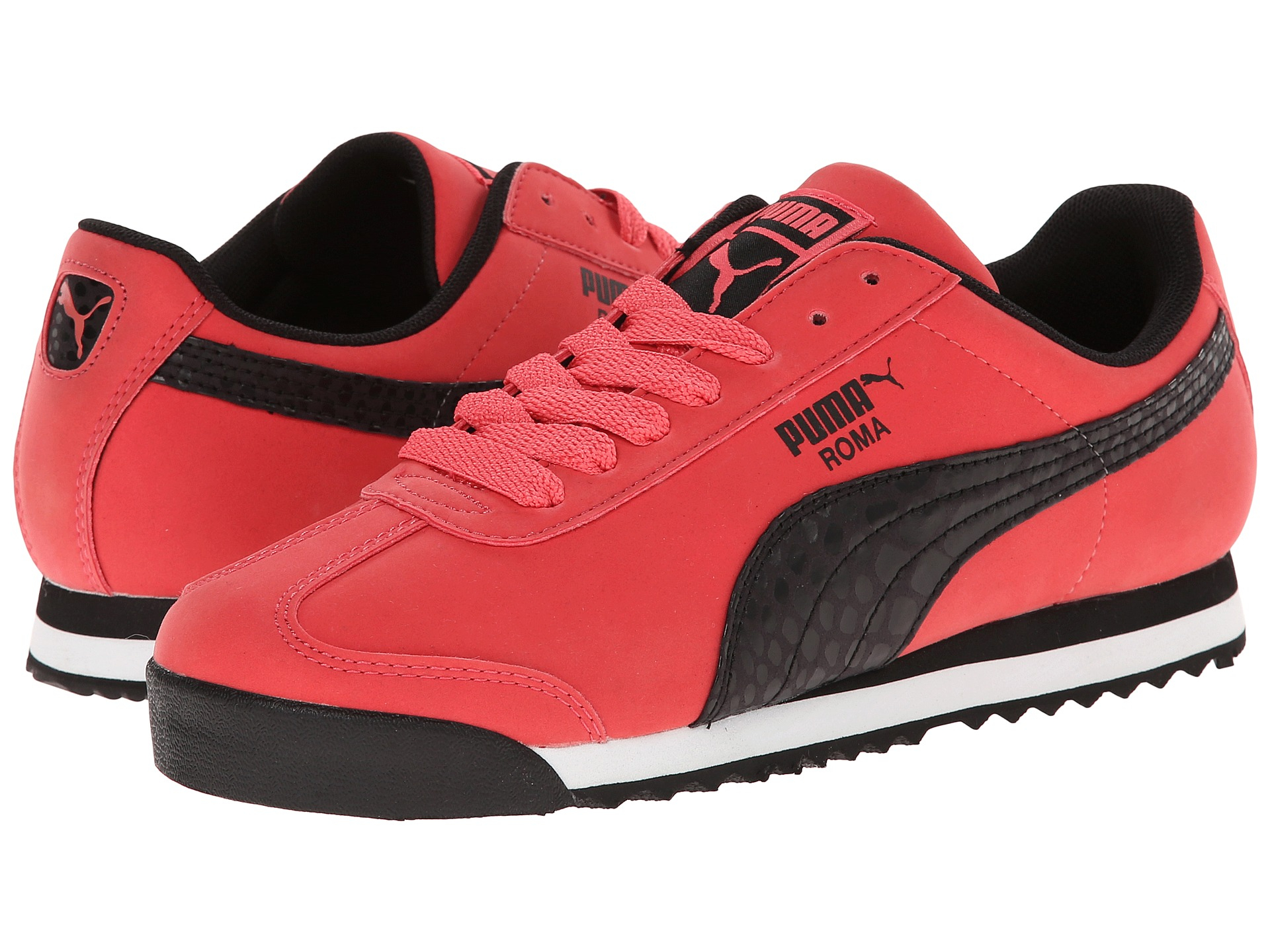 puma roma red shoes