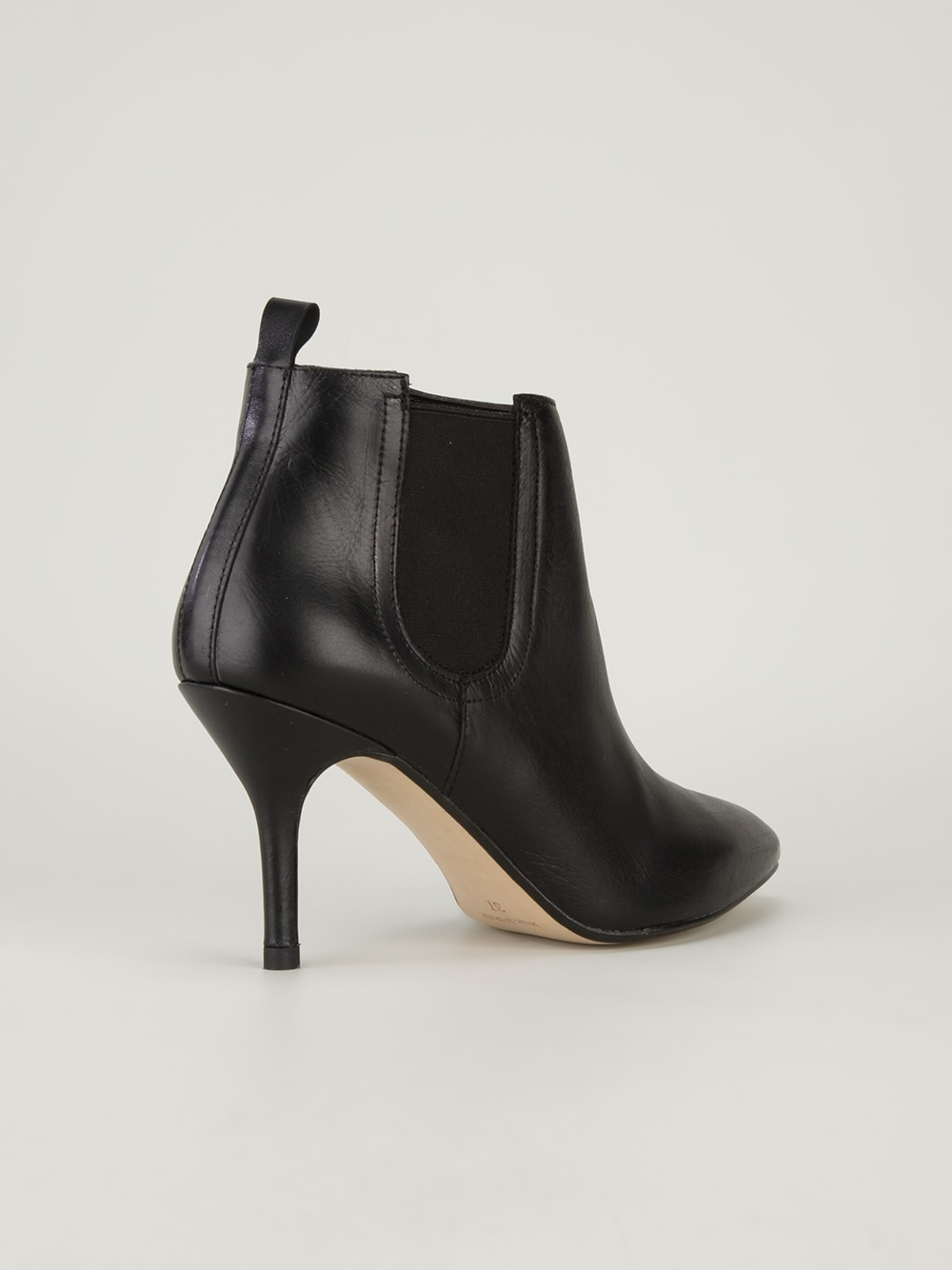 Gardenia Stiletto Ankle Boot in Black   Lyst