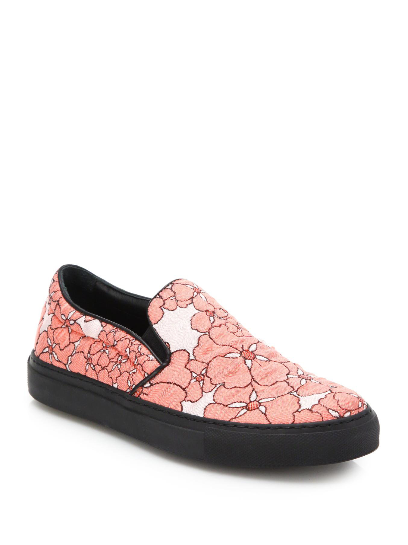 Giamba Floral Printed Slip-On Sneakers fast delivery h8MwlKuFbt