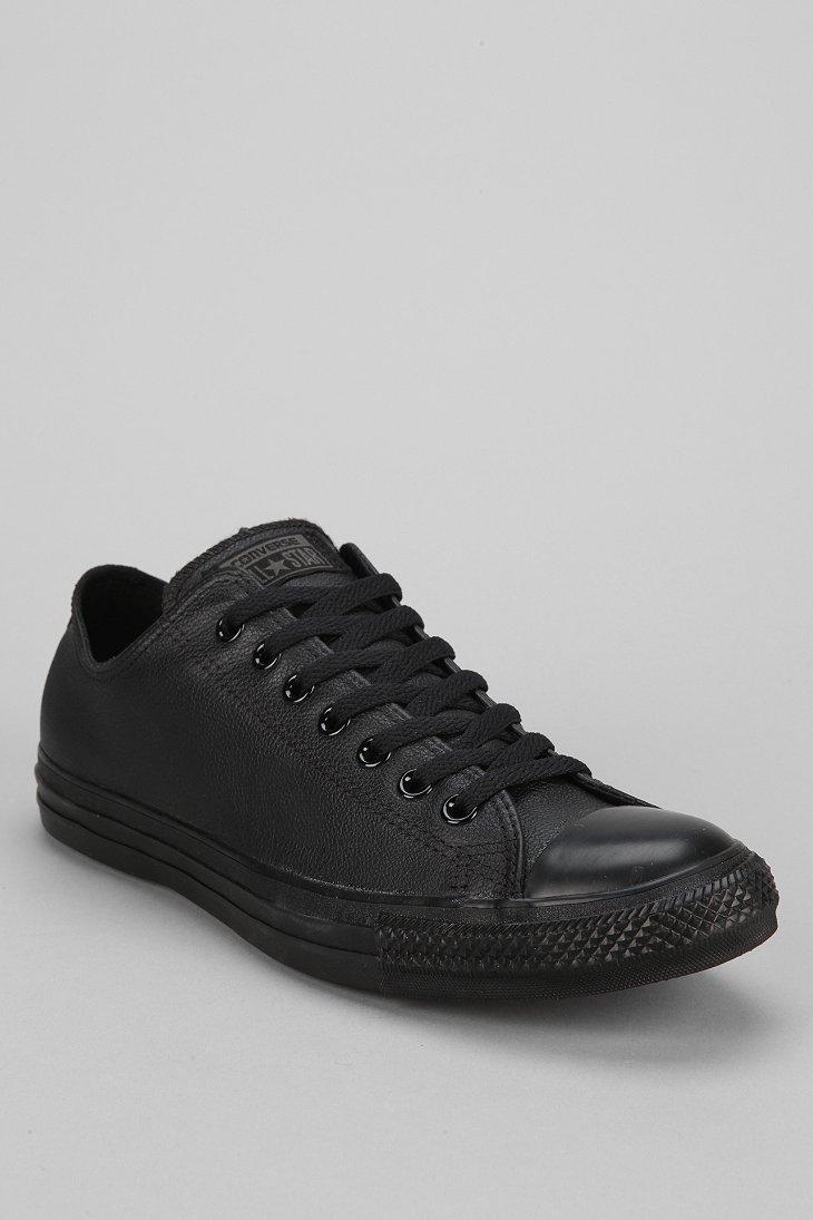 9595e16da85932 Lyst - Converse Chuck Taylor All Star Leather Low-Top Men S Sneaker ...