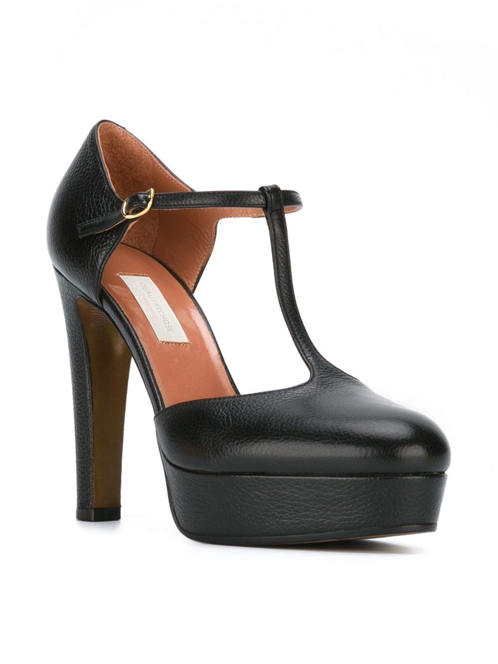 Black Suede Slingback Shoes L'autre Chose MoBMOHKE1E