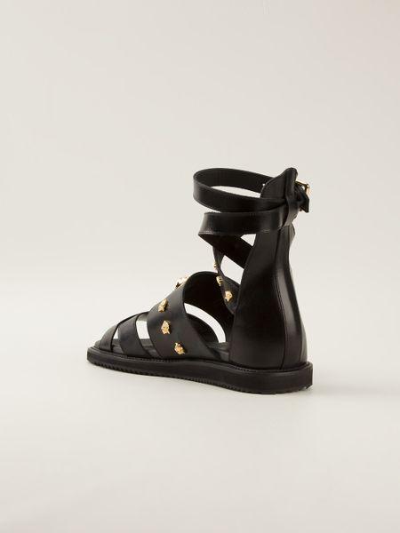 baa2e1e9e8 Versace Mens Gladiator Sandals For Sale ~ Men Sandals