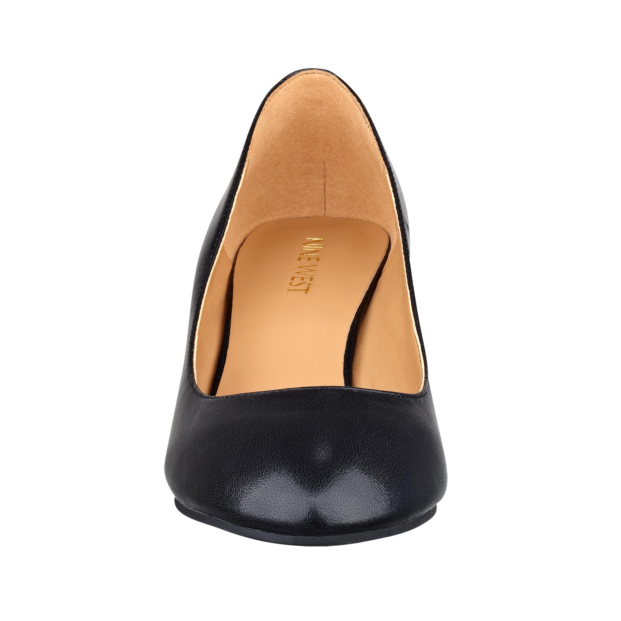 8a4817f1a9 Nine West Ispy Wedge Heels in Black - Lyst