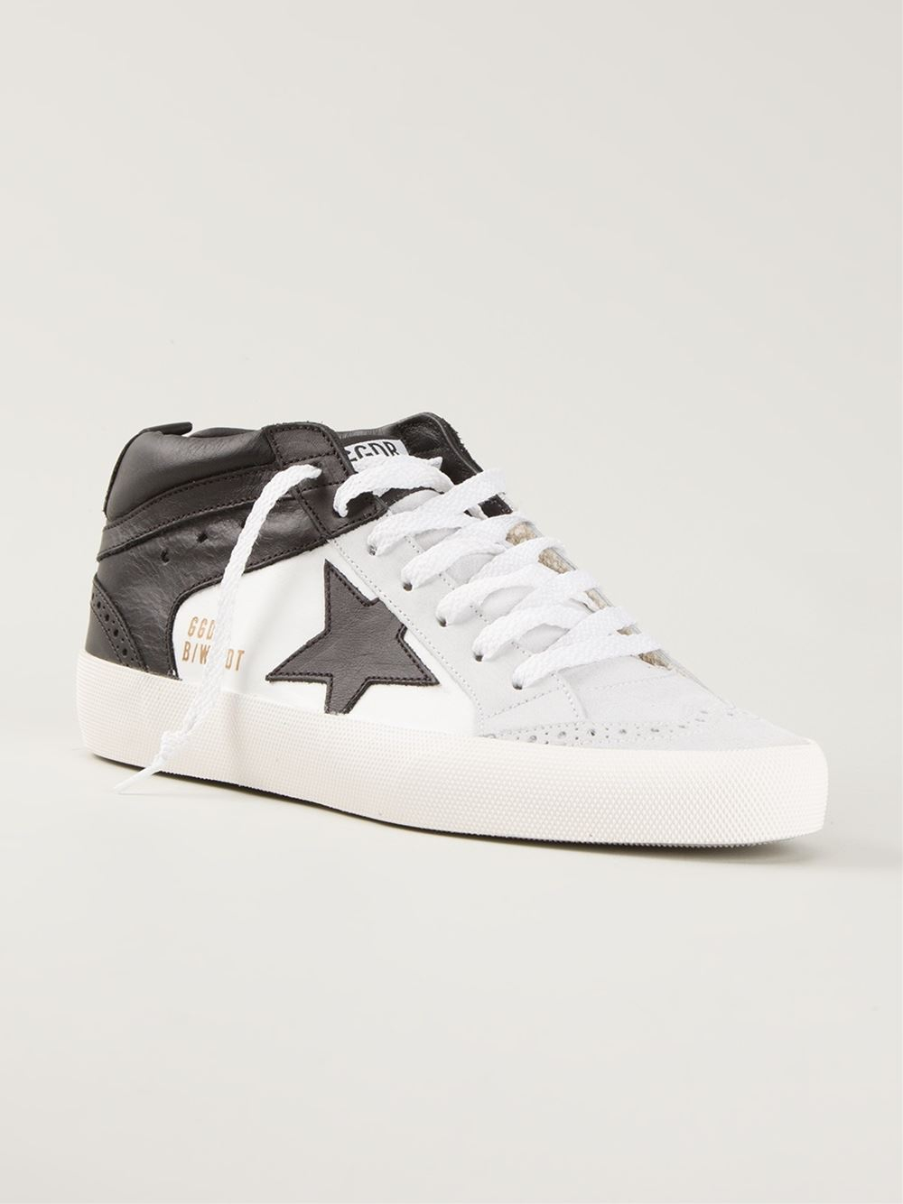 ccbfa4abec50 Lyst - Golden Goose Deluxe Brand  Mid Star Limited Edition  Sneakers ...
