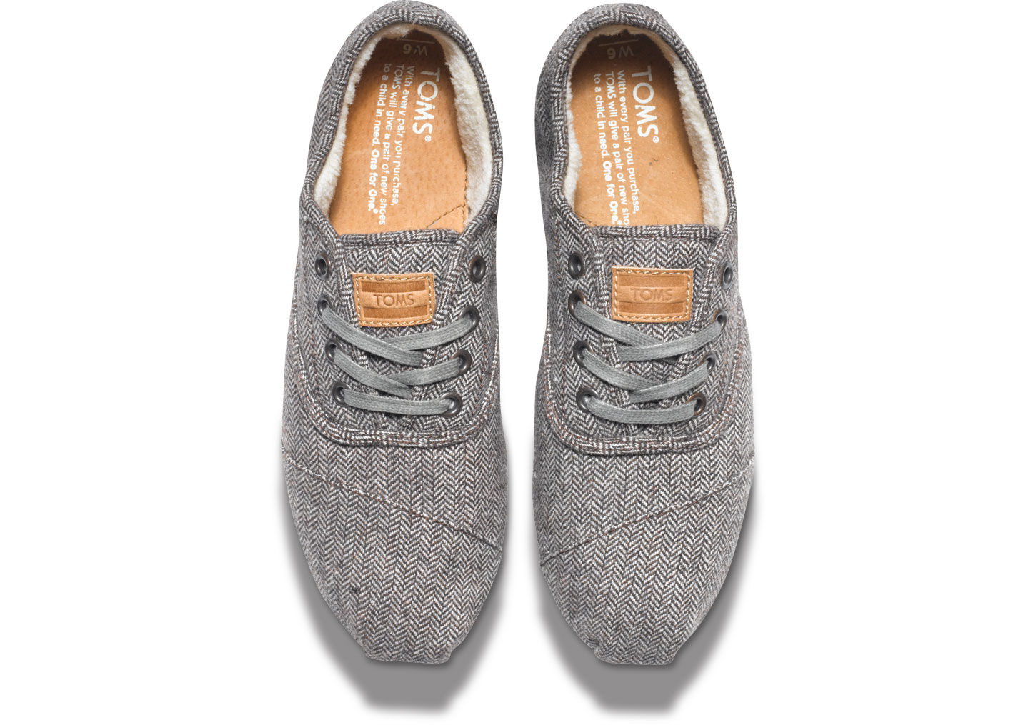 Casual Womens Grey Shoes With Elastic Laces