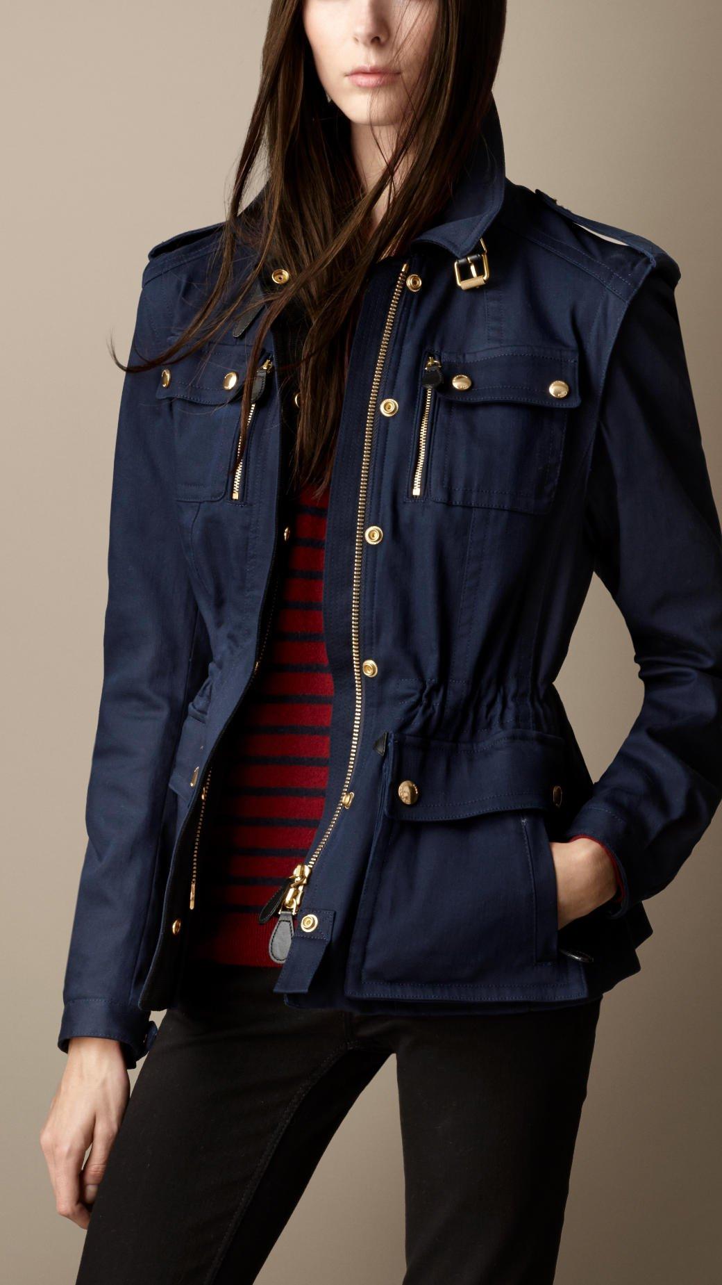 Burberry womens jackets