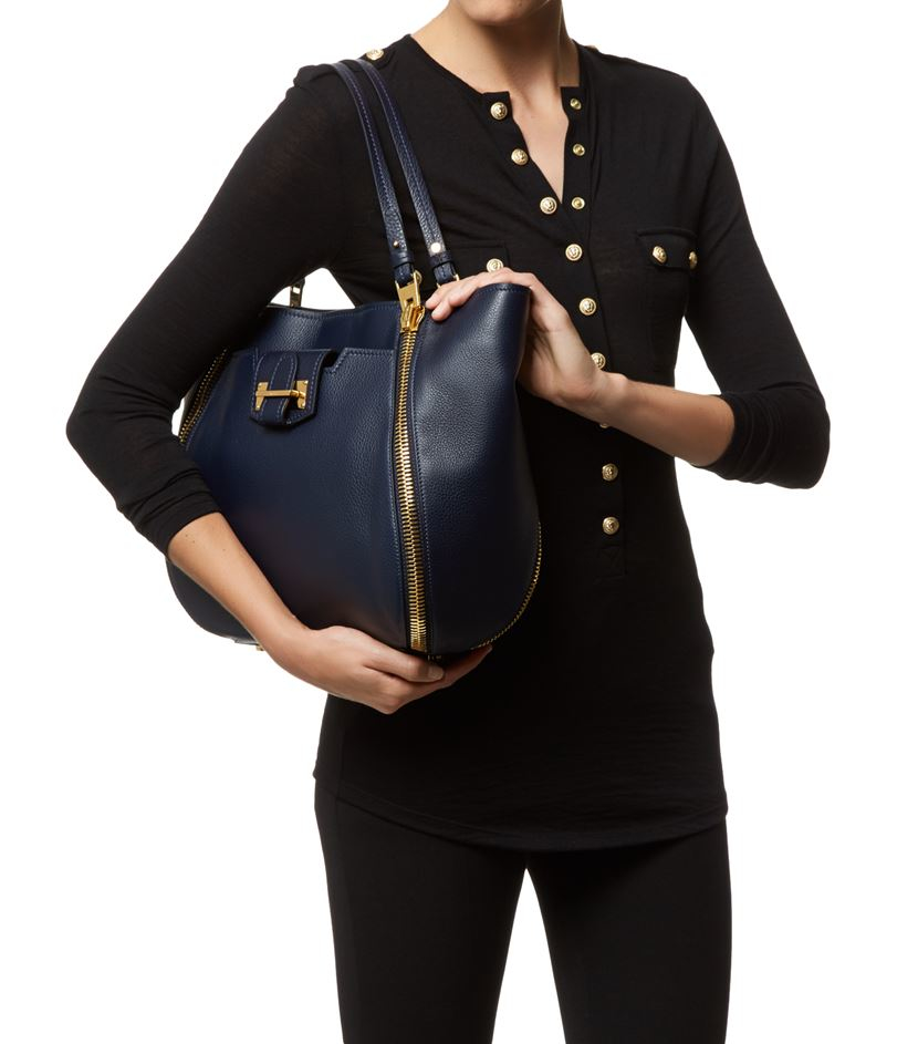 633beb8478db Tom Ford Small Sedgwick Tote in Blue - Lyst
