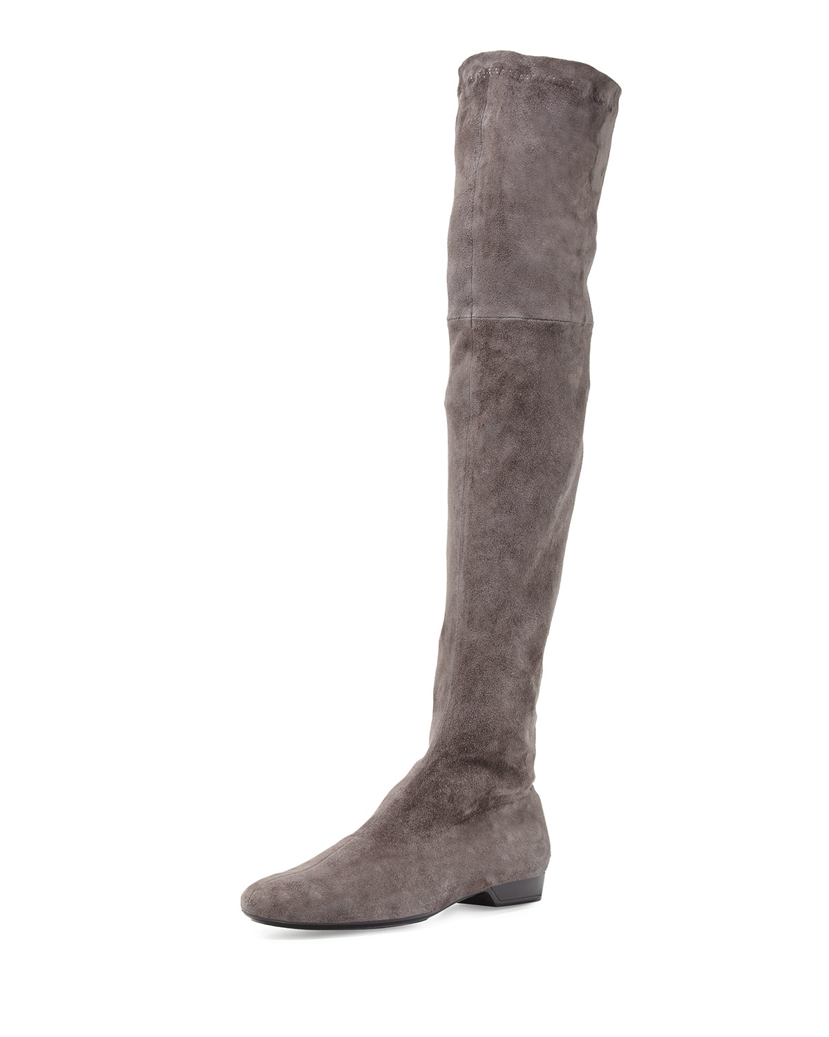 7257b9fd5ff Lyst - Robert Clergerie Fissaj Stretch Suede Over-the-knee Boot in Gray
