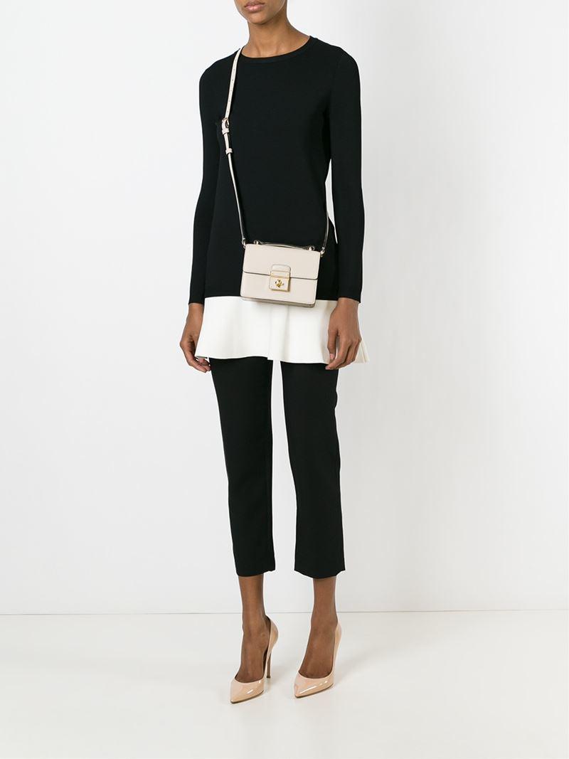93dfcad816c3 Lyst - Dolce   Gabbana  Rosalia  Crossbody Bag in Natural