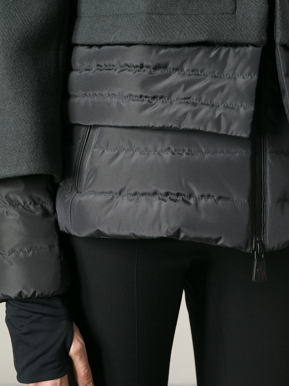 Lyst Moncler Grenoble Limoux Ski Jacket In Gray