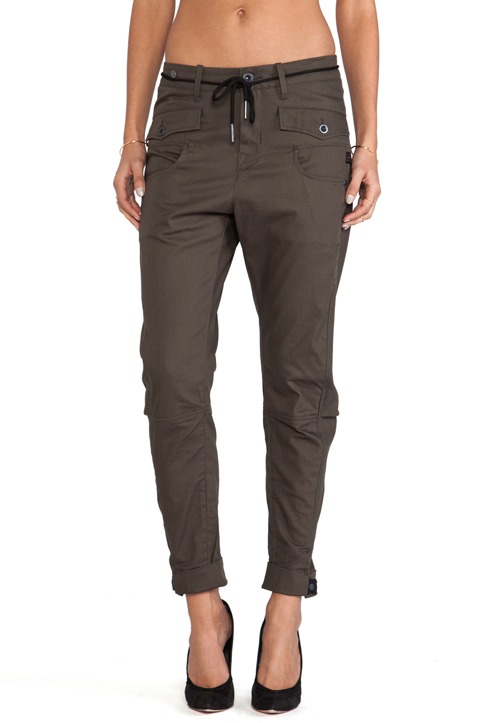 lyst g star raw army radar losse tapered pant in gray. Black Bedroom Furniture Sets. Home Design Ideas