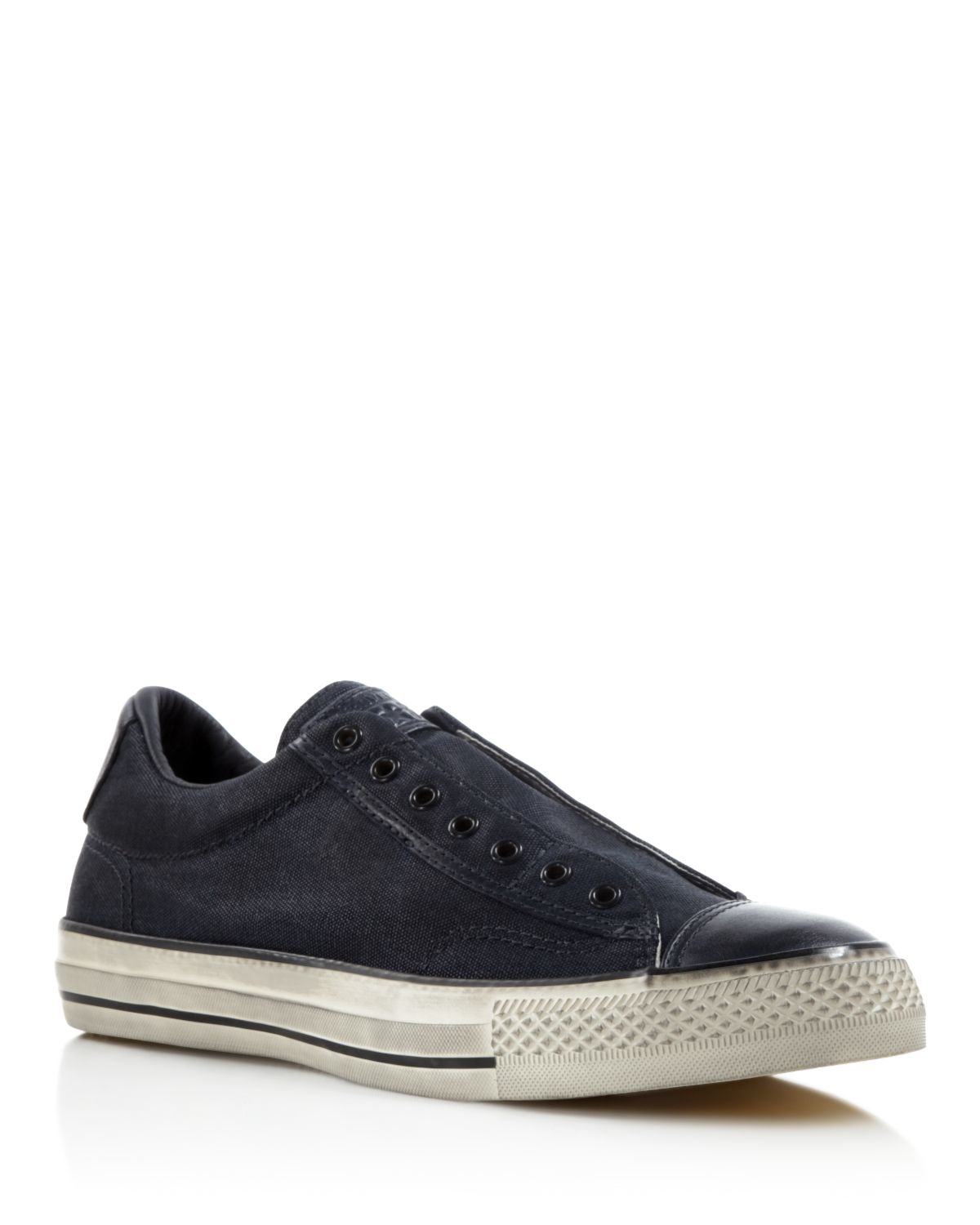Converse All Star Vintage Slip On Sneakers In Gray For Men
