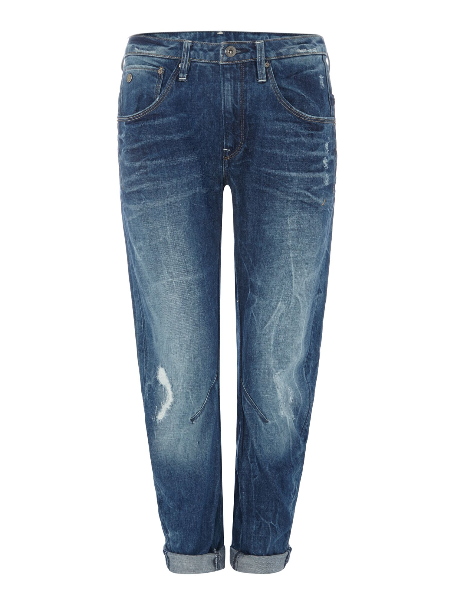 star raw arc 3d low boyfriend jean in watton denim in blue lyst. Black Bedroom Furniture Sets. Home Design Ideas