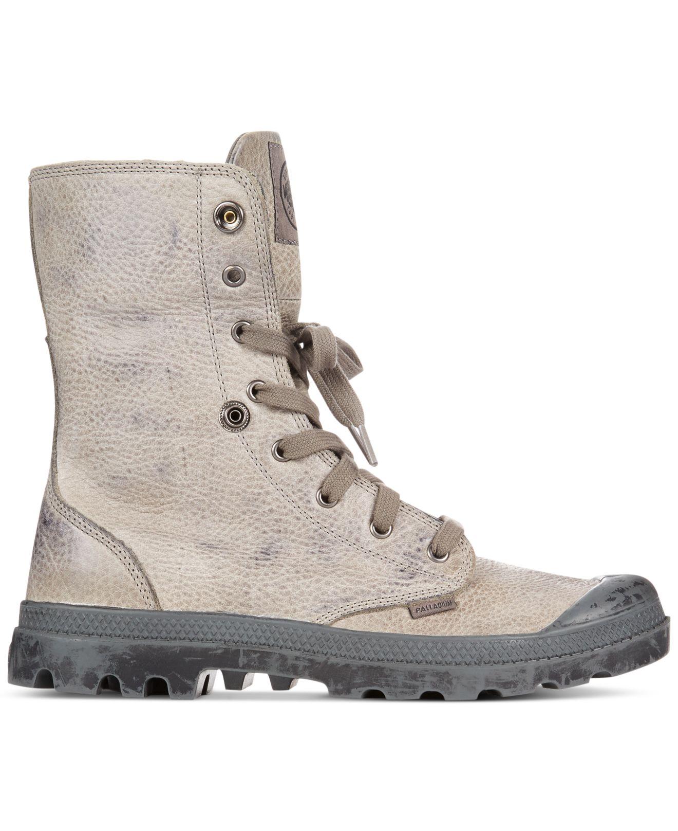 Palladium Shoes Men Leather