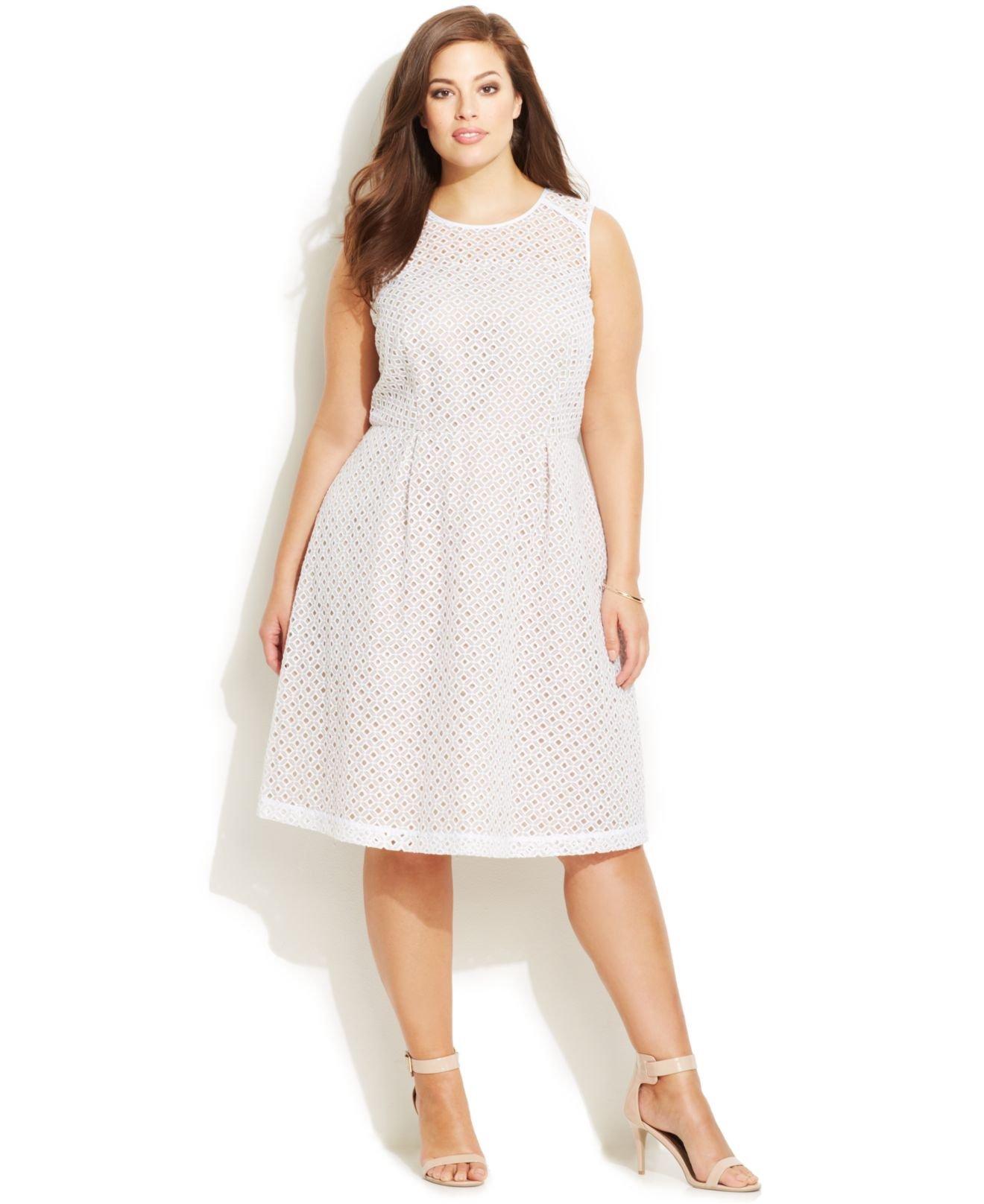 macys wedding guest dresses Adrianna Papell Cap Sleeve Scalloped Lace Sheath Dresses Women Macy s
