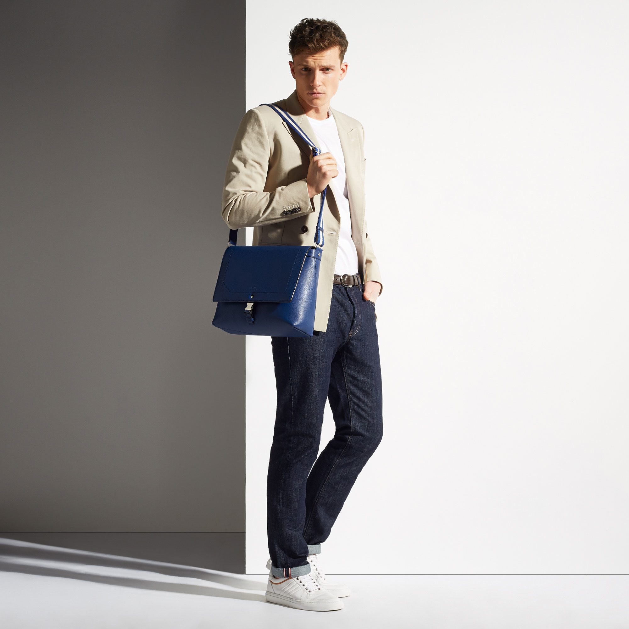 Lyst - Bally Kenny Small in Blue for Men 180db4c92d257