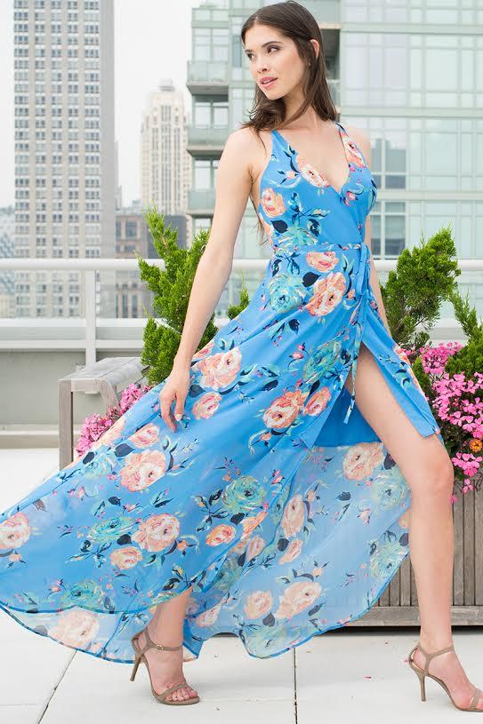 d3bf34d87dc Yumi Kim Rush Hour Maxi Dress in Blue - Lyst