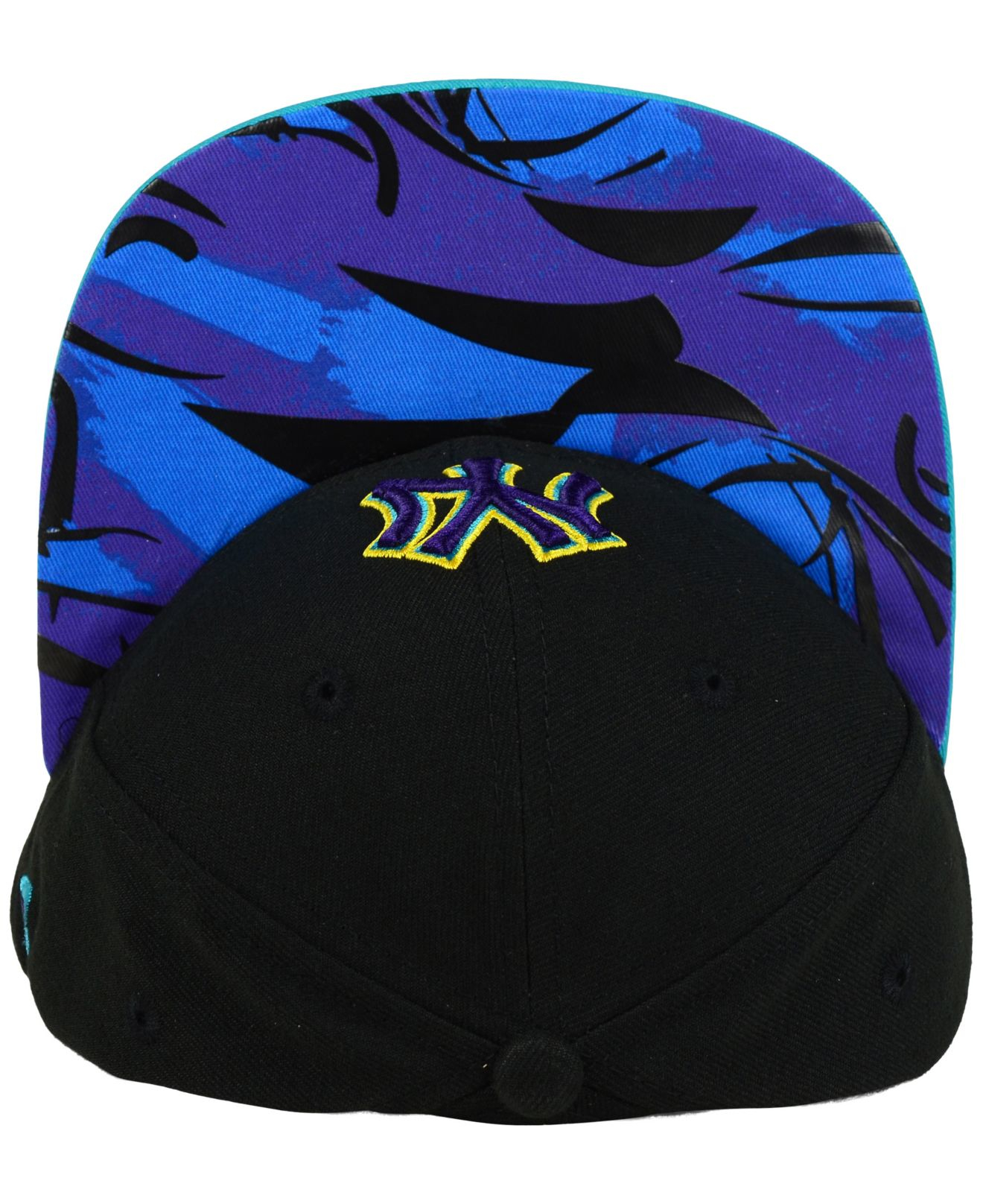 4768b12173b ... official lyst ktz new york yankees aqua hook vize 9fifty snapback cap  in a6b61 0b897
