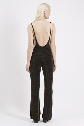 3dfeb56d9a79 TOPSHOP Yaya Jumpsuit By Motel in Black - Lyst