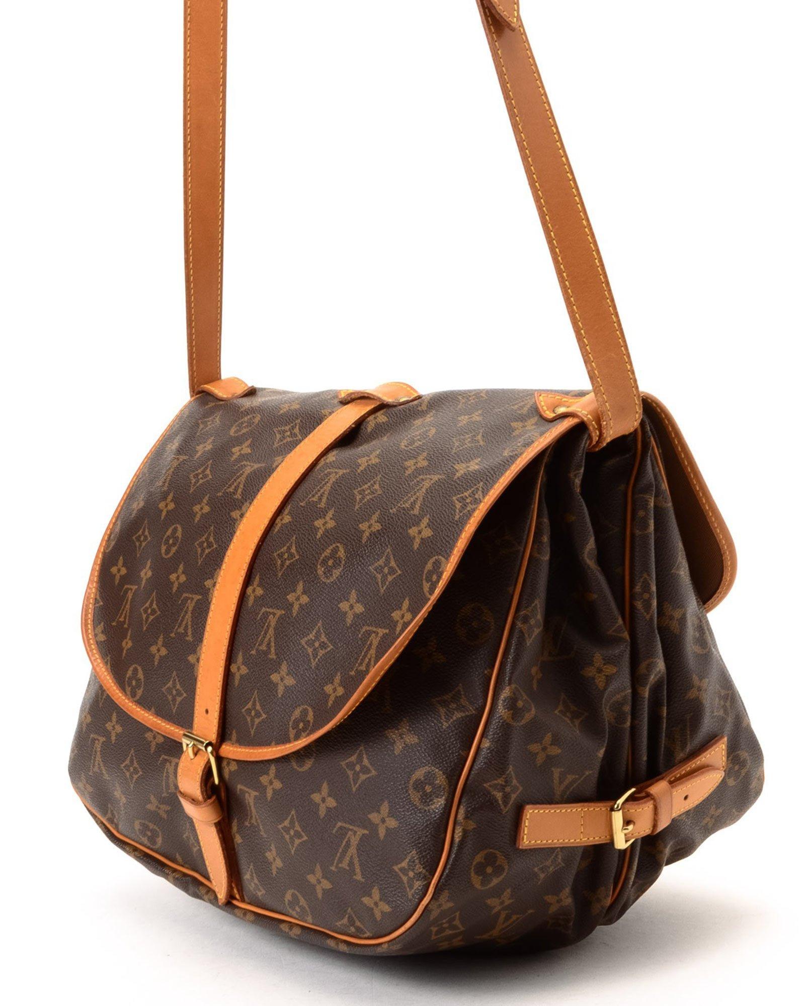 Lyst - Louis Vuitton Crossbody Bag - Vintage in Brown