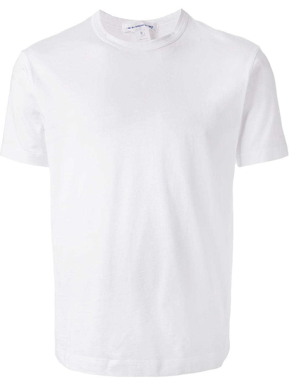 Play Comme Des Gar Ons Crew Neck T Shirt In Black For Men