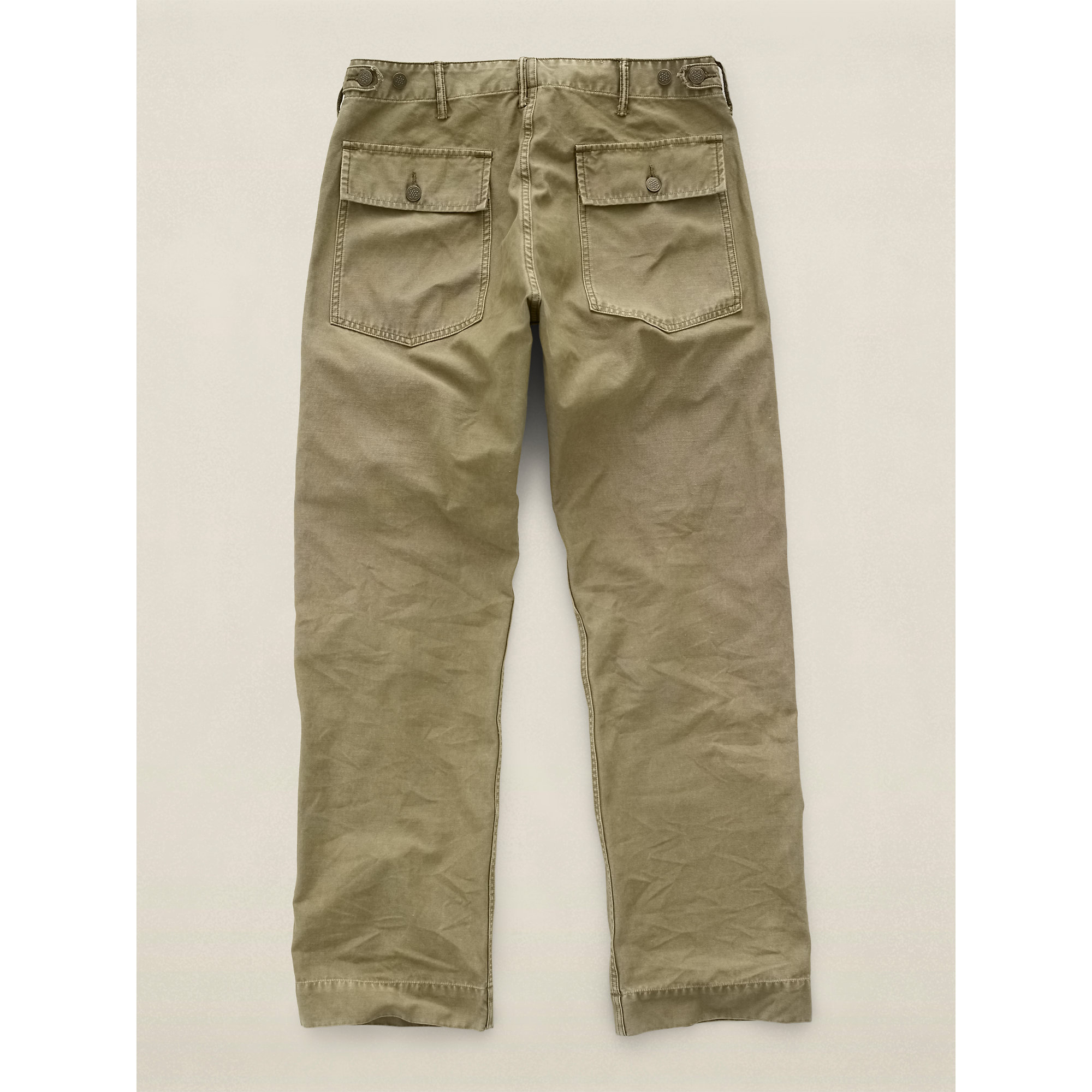 Rrl Army Cotton Utility Pant In Green For Men Lyst