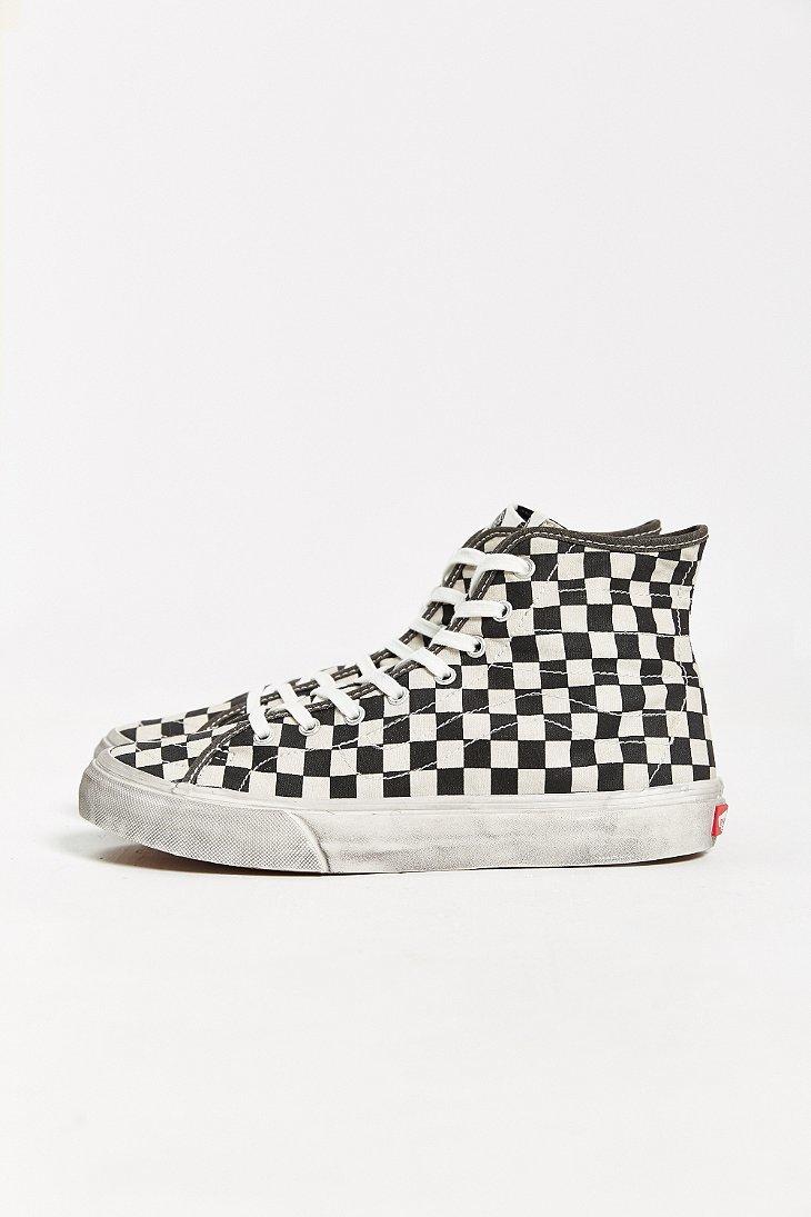75c47883d5 Lyst - Vans Sk8-hi Decon Overwashed Sneaker in Black for Men