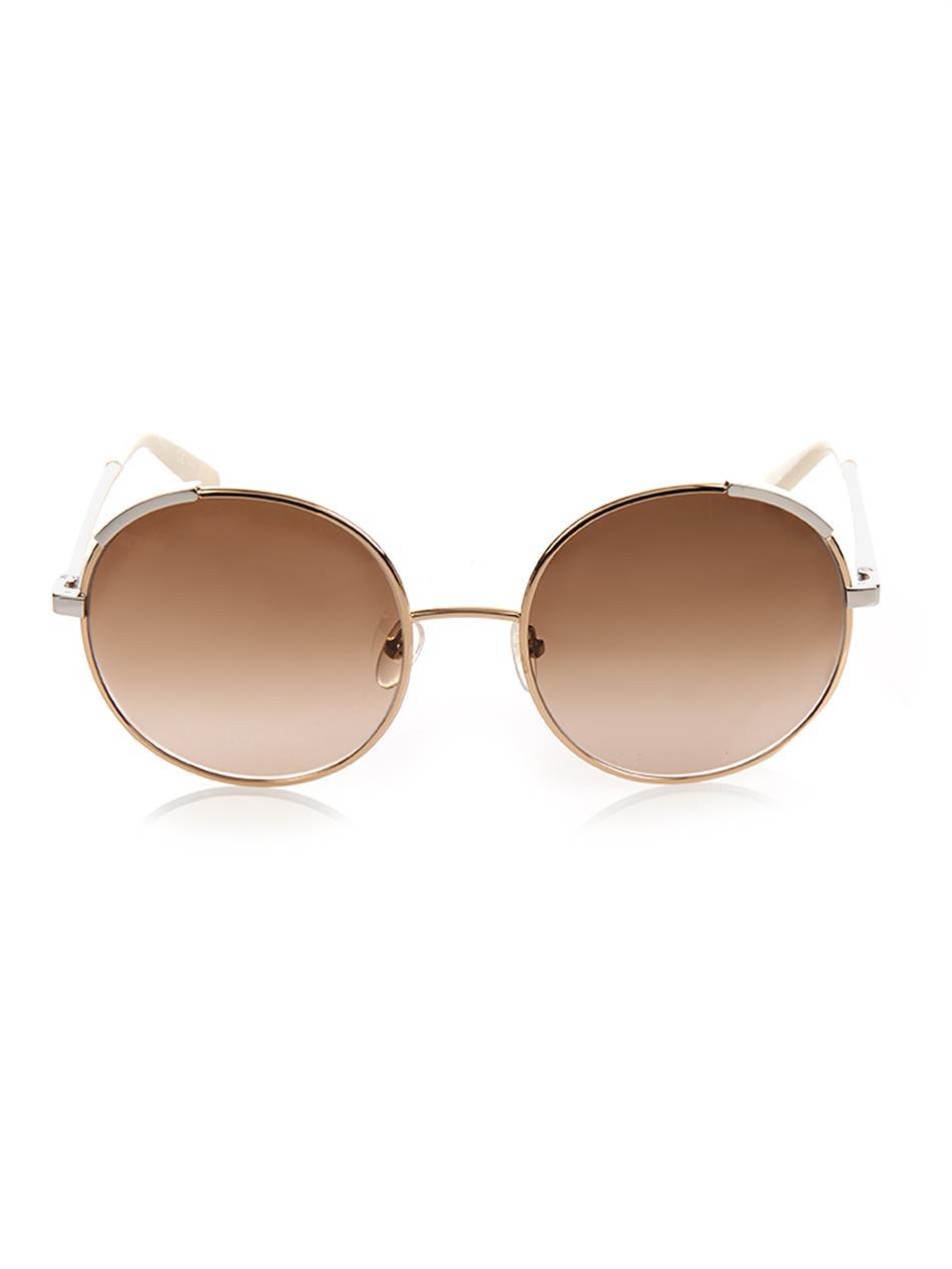 round frame sunglasses - Metallic Chloé vtDfulLbyU