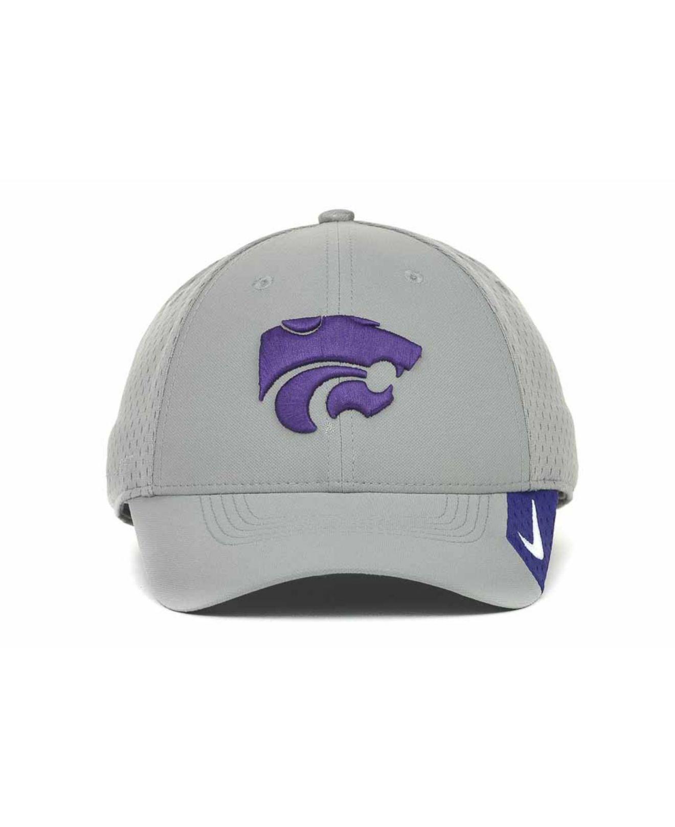 online store 83683 f278a Lyst - Nike Kansas State Wildcats Grayout Mesh Swooshflex Dri-Fit ...