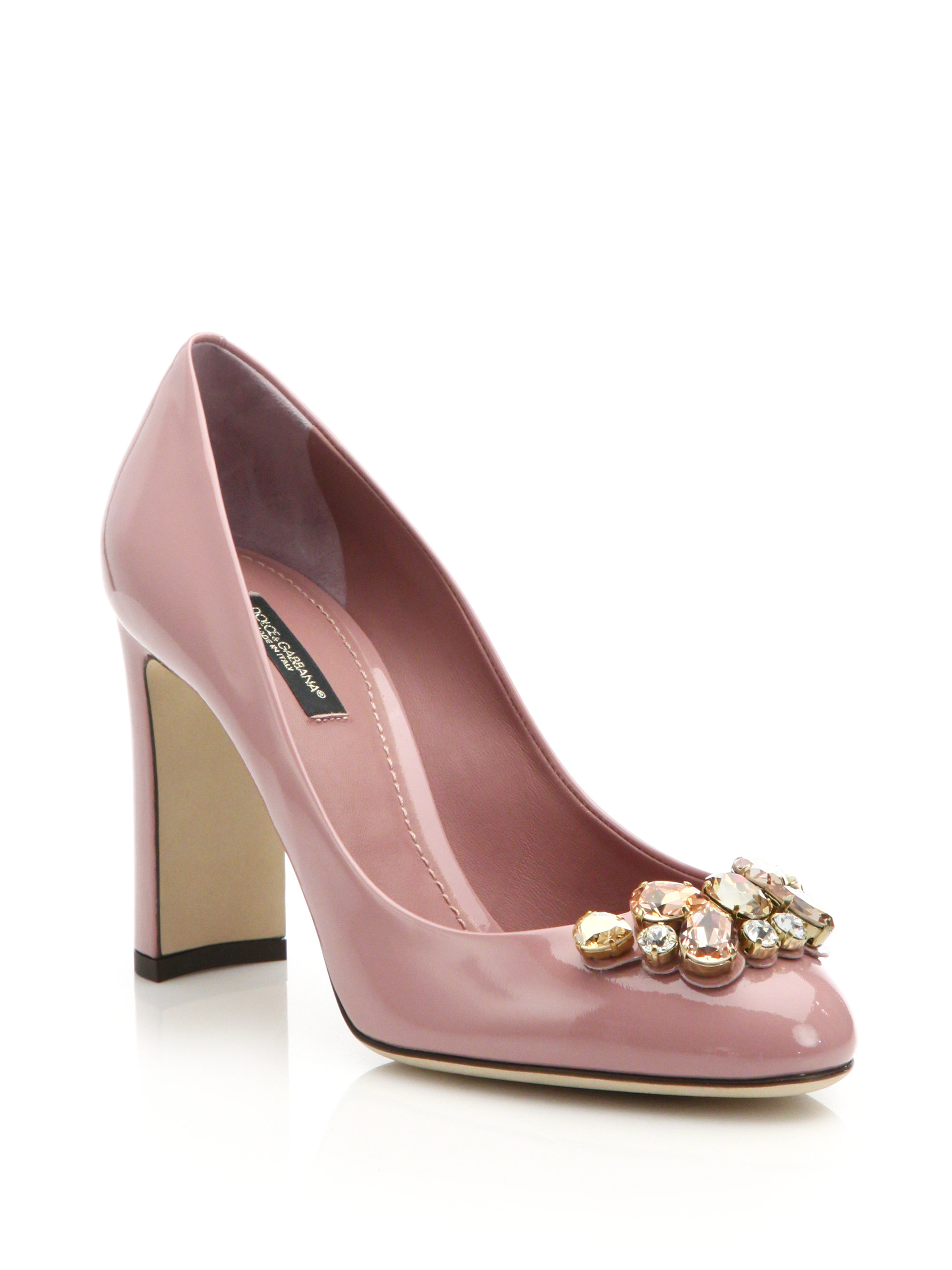 Dolce & Gabana Patent Leather Heels 7Skve
