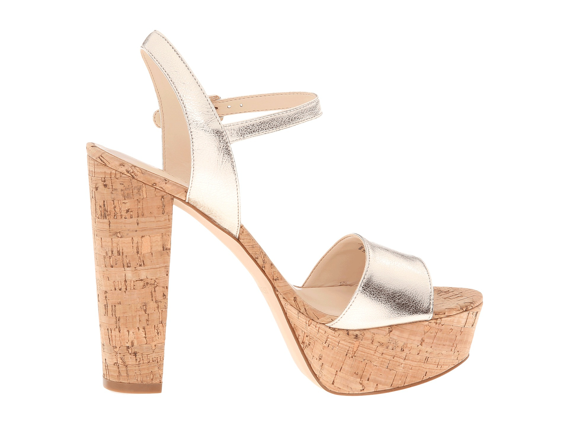 4d30bb3e183a Lyst - Nine West Carnation in Brown