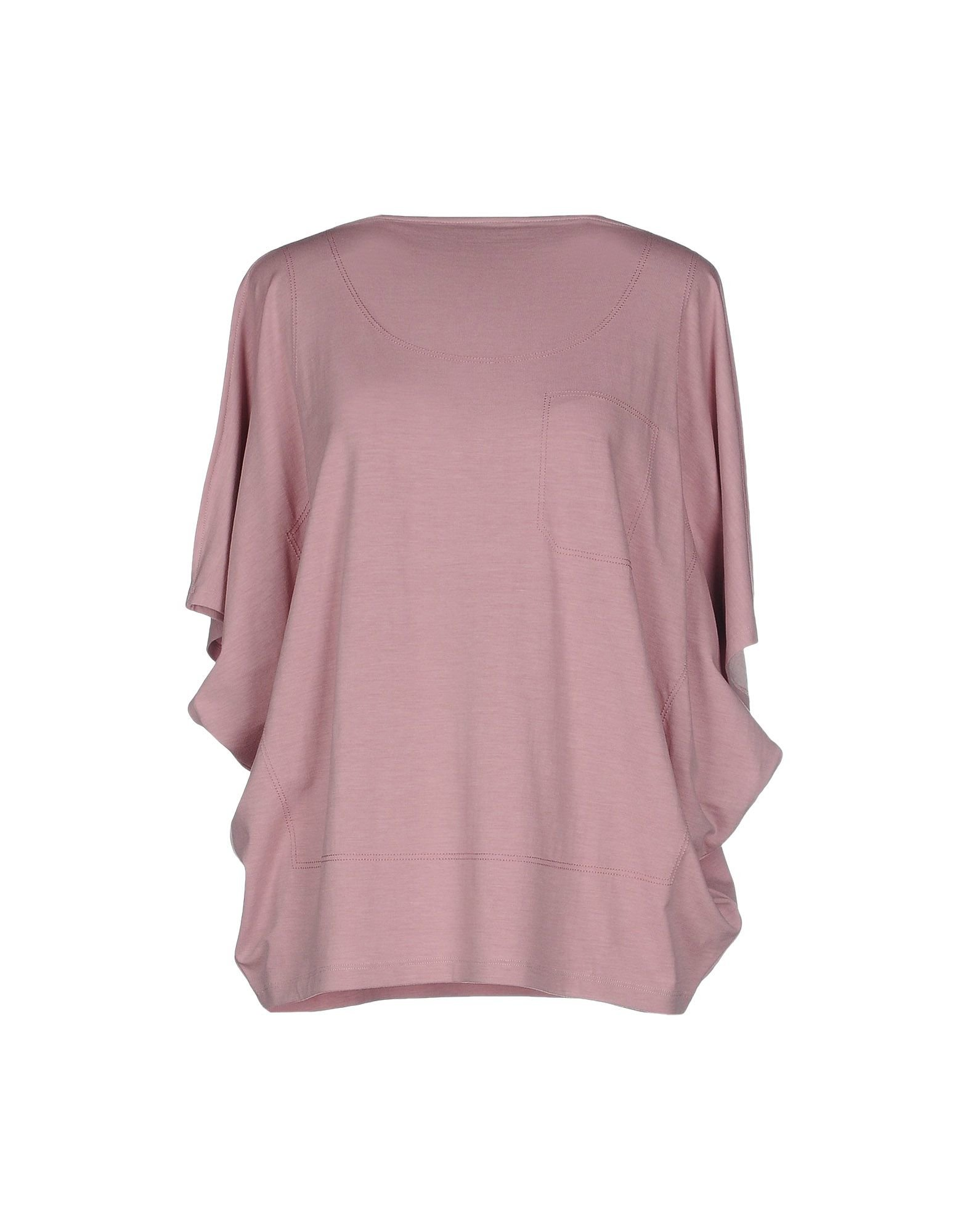 Mm6 by maison martin margiela t shirt in pink light pink for Mm6 maison margiela