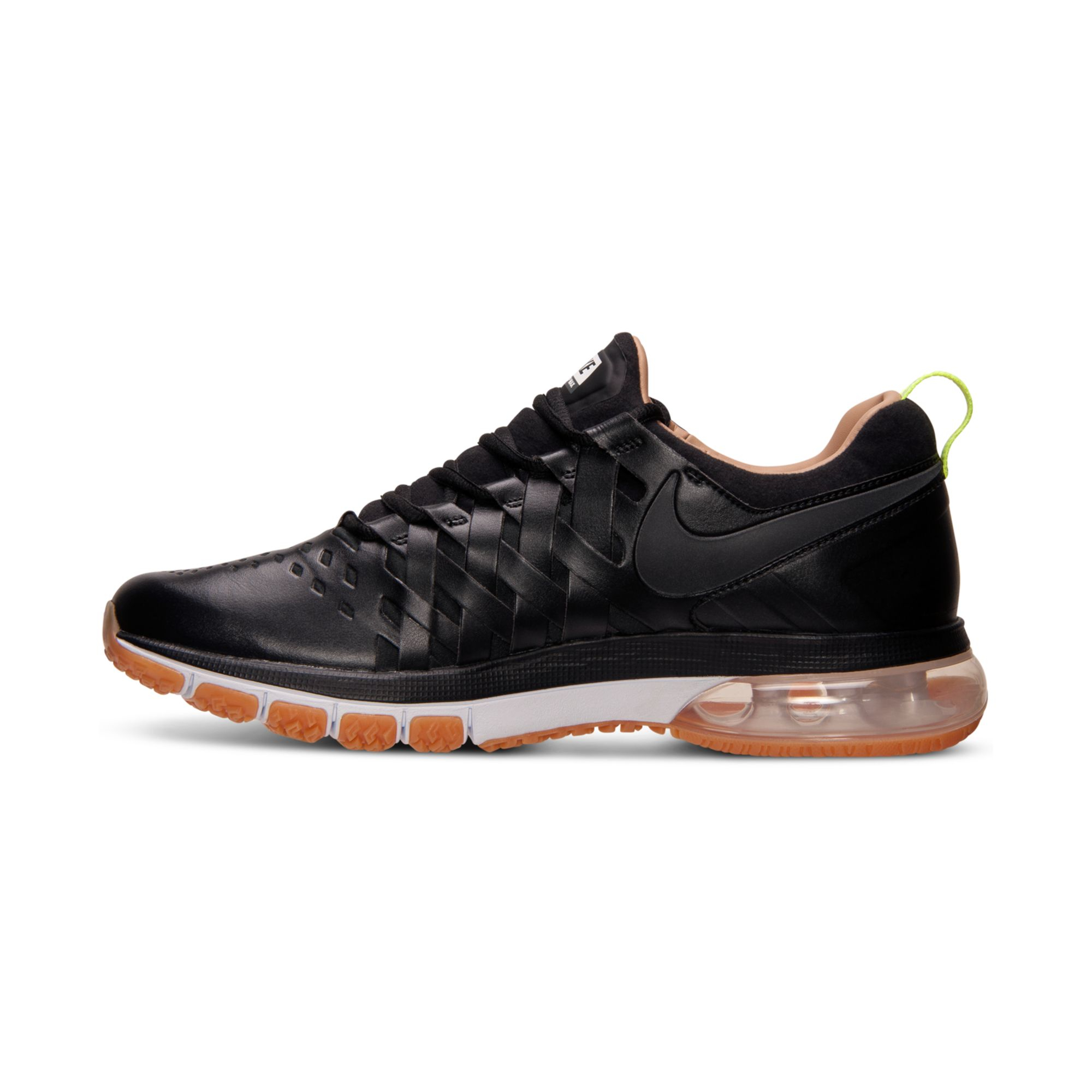 nike men 39 s fingertrap air max premium training sneakers. Black Bedroom Furniture Sets. Home Design Ideas
