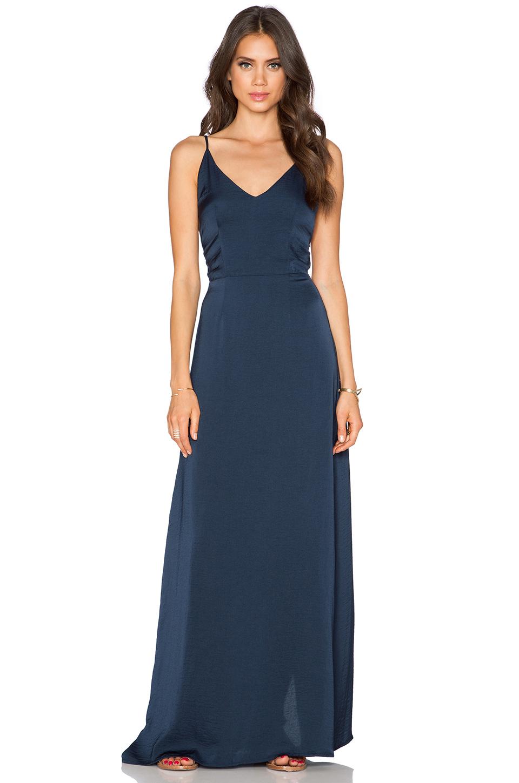 1006c53b584 Lyst - Capulet V Neck Maxi Dress in Blue