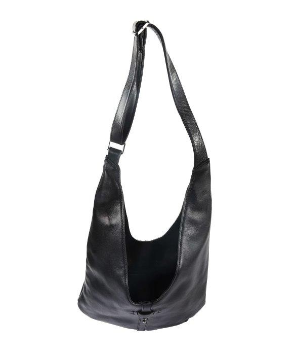 Halston City Casual Hobo Bag in Black | Lyst