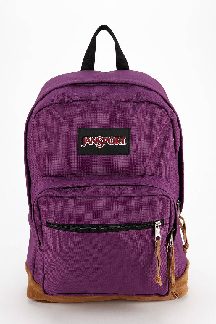 Jansport Right Pack Backpack in Purple (VIOLET) | Lyst